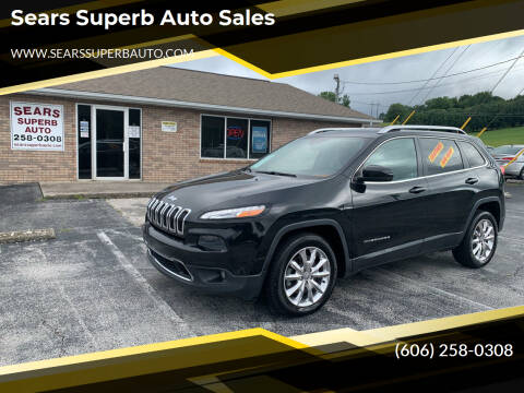 2014 Jeep Cherokee for sale at Sears Superb Auto Sales in Corbin KY