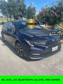 2020 Toyota Corolla for sale at Nissan of Boerne in Boerne TX