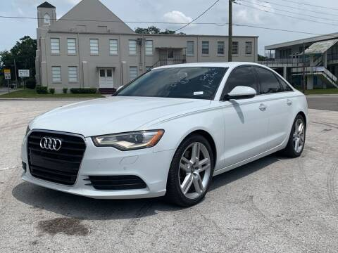 2014 Audi A6 for sale at LUXURY AUTO MALL in Tampa FL