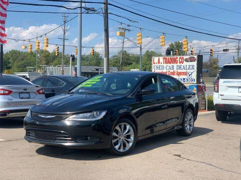 2015 Chrysler 200 for sale at L.A. Trading Co. Woodhaven in Woodhaven MI