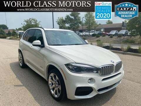 2016 BMW X5 for sale at World Class Motors LLC in Noblesville IN