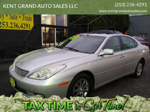 2004 Lexus ES 330 for sale at KENT GRAND AUTO SALES LLC in Kent WA