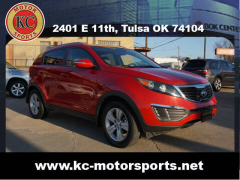 2011 Kia Sportage for sale at KC MOTORSPORTS in Tulsa OK