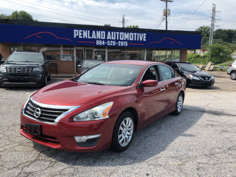 2015 Nissan Altima for sale at Penland Automotive Group in Laurens SC