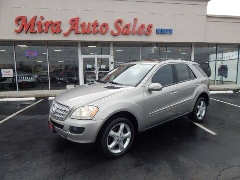 2008 Mercedes-Benz M-Class for sale at Mira Auto Sales in Dayton OH