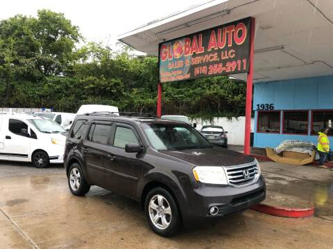 2012 Honda Pilot for sale at Global Auto Sales and Service in Nashville TN