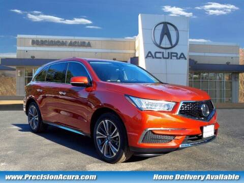 2020 Acura MDX for sale at Precision Acura of Princeton in Lawrence Township NJ