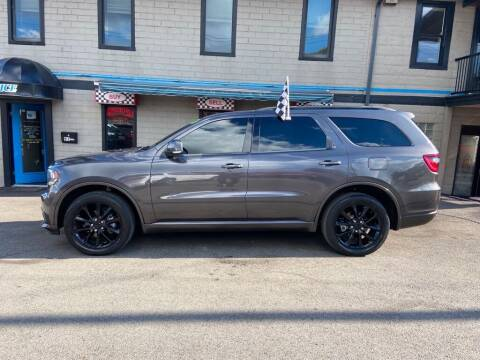 2017 Dodge Durango for sale at Sisson Pre-Owned in Uniontown PA