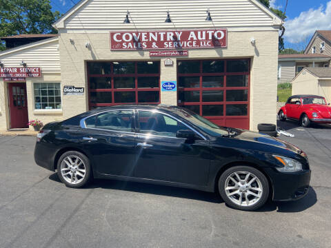 2013 Nissan Maxima for sale at COVENTRY AUTO SALES in Coventry CT