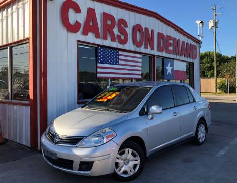 2011 Nissan Versa for sale at Cars On Demand in Pasadena TX