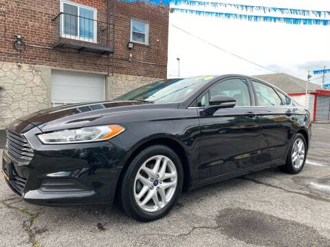 2014 Ford Fusion for sale at PELHAM USED CARS & AUTOMOTIVE CENTER in Bronx NY