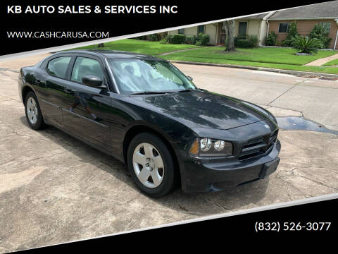 2008 Dodge Charger for sale at KB AUTO SALES & SERVICES INC in Houston TX