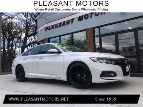 2018 Honda Accord for sale at Pleasant Motors in New Bedford MA