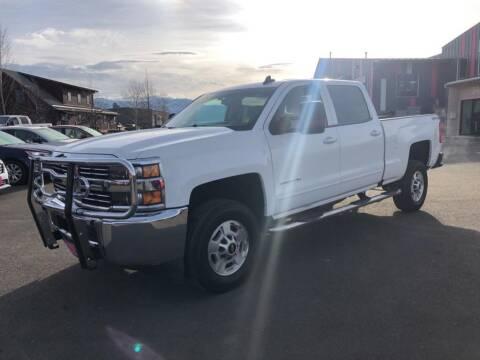 2016 Chevrolet Silverado 2500HD for sale at Snyder Motors Inc in Bozeman MT