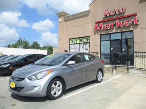 2013 Hyundai Elantra for sale at Auto Market in Oklahoma City OK