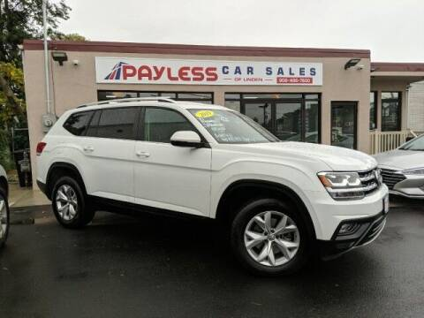 2019 Volkswagen Atlas for sale at PAYLESS CAR SALES of South Amboy in South Amboy NJ