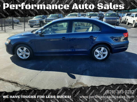 2012 Volkswagen Jetta for sale at Performance Auto Sales in Hickory NC