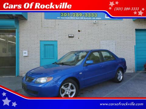 2003 Mazda Protege for sale at Cars Of Rockville in Rockville MD