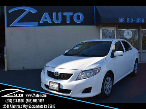 2009 Toyota Corolla for sale at Z Auto in Sacramento CA