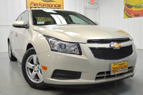 2014 Chevrolet Cruze for sale at Performance car sales in Joliet IL