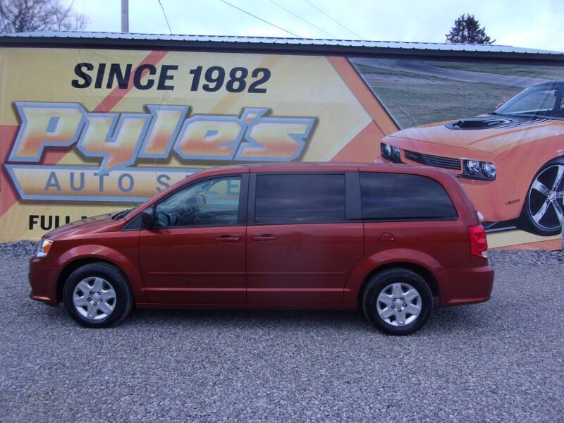 2012 Dodge Grand Caravan for sale at Pyles Auto Sales in Kittanning PA