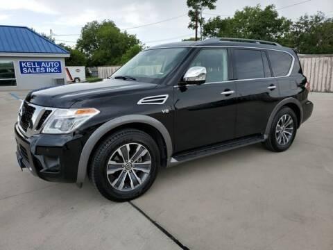 2019 Nissan Armada for sale at Kell Auto Sales, Inc - Grace Street in Wichita Falls TX