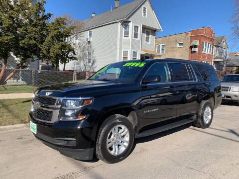 2019 Chevrolet Suburban for sale at Barnes Auto Group in Chicago IL