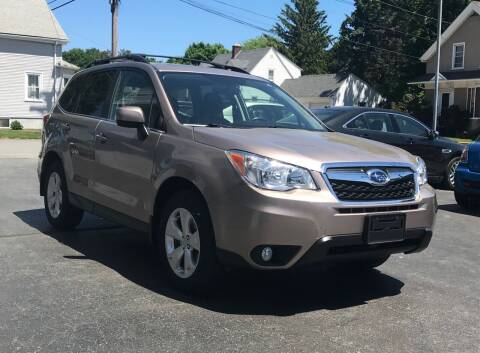 2016 Subaru Forester for sale at FAMILY AUTO SALES, INC. in Johnston RI