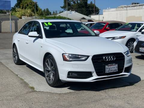 2016 Audi A4 for sale at H & K Auto Sales & Leasing in San Jose CA