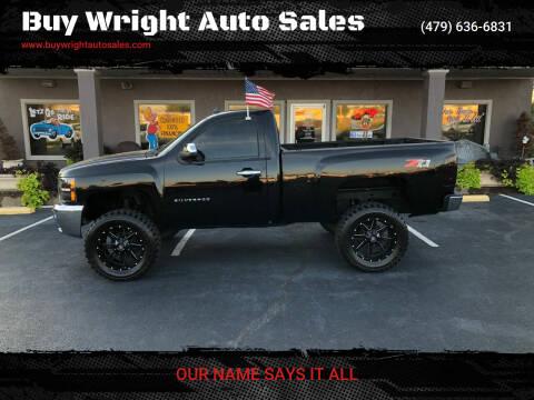 2013 Chevrolet Silverado 1500 for sale at Buy Wright Auto Sales in Rogers AR
