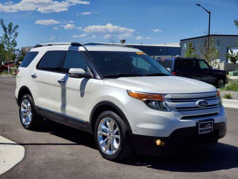 2011 Ford Explorer for sale at FRESH TREAD AUTO LLC in Springville UT