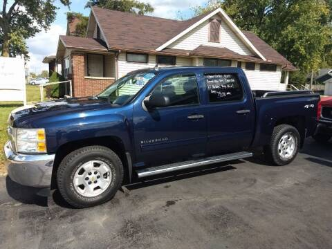 2012 Chevrolet Silverado 1500 for sale at Economy Motors in Muncie IN