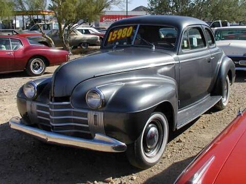 1940 Oldsmobile n/a for sale at Collector Car Channel - Desert Gardens Mobile Homes in Quartzsite AZ