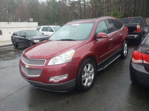 2011 Chevrolet Traverse for sale at Credit Cars LLC in Lawrenceville GA