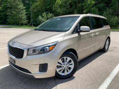 2016 Kia Sedona for sale at Lifetime Automotive LLC in Middletown OH