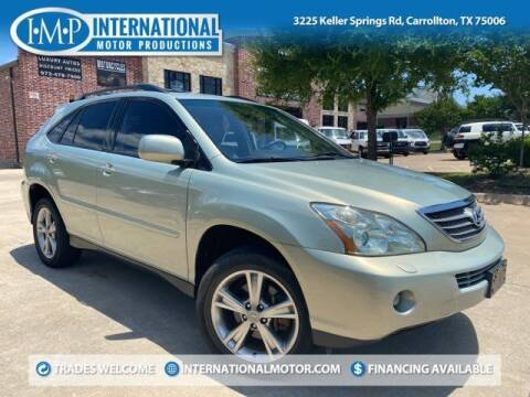 2006 Lexus RX 400h for sale at International Motor Productions in Carrollton TX
