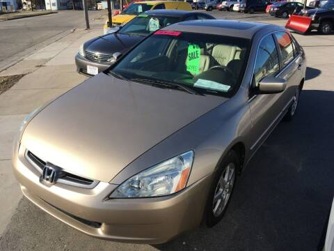 2005 Honda Accord for sale at AUTO PLUS INC in Marinette WI