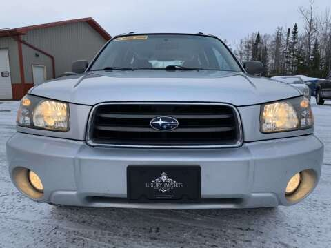 2005 Subaru Forester for sale at LUXURY IMPORTS in Hermantown MN
