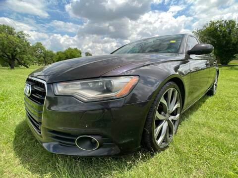 2014 Audi A6 for sale at Carz Of Texas Auto Sales in San Antonio TX