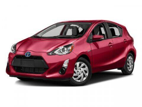 2016 Toyota Prius c for sale at TEJAS TOYOTA in Humble TX