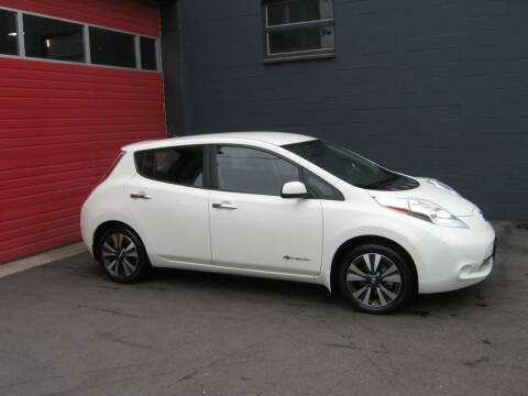 2016 Nissan LEAF for sale at Paramount Motors NW in Seattle WA