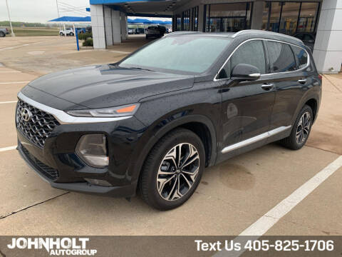 2020 Hyundai Santa Fe for sale at JOHN HOLT AUTO GROUP, INC. in Chickasha OK