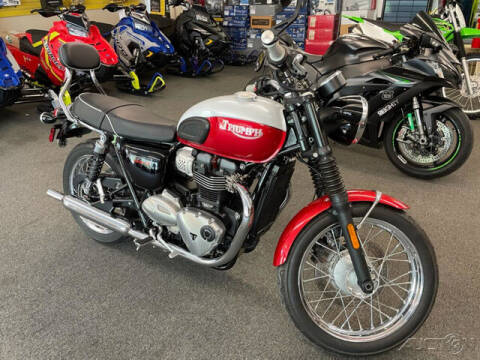 2020 Triumph T100 BUD EKINS for sale at ROUTE 3A MOTORS INC in North Chelmsford MA