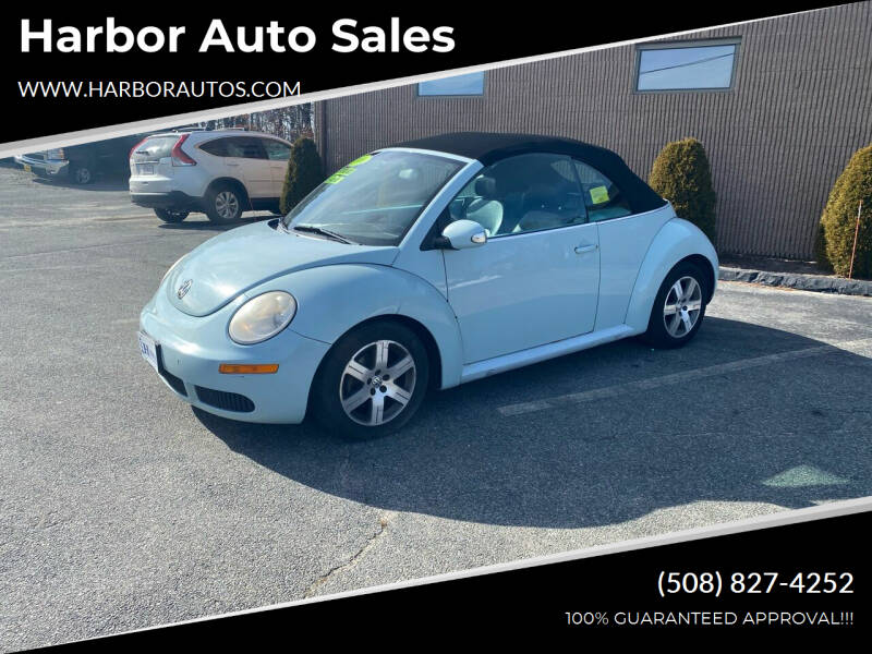 2006 Volkswagen New Beetle Convertible for sale at Harbor Auto Sales in Hyannis MA