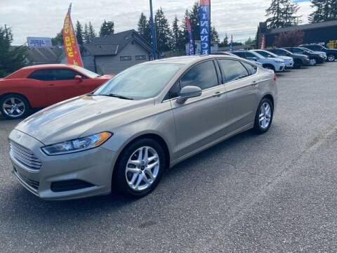 2015 Ford Fusion for sale at MK MOTORS in Marysville WA
