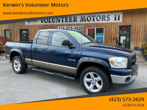 2008 Dodge Ram Pickup 1500 for sale at Kerwin's Volunteer Motors in Bristol TN