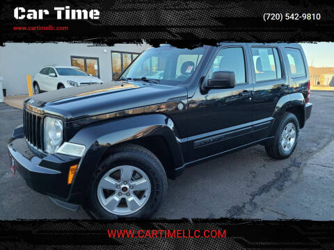 2012 Jeep Liberty for sale at Car Time in Denver CO