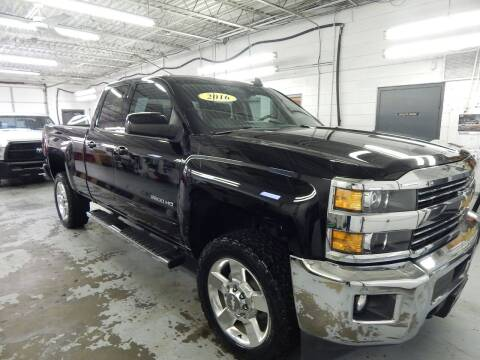 2016 Chevrolet Silverado 2500HD for sale at Vail Automotive in Norfolk VA