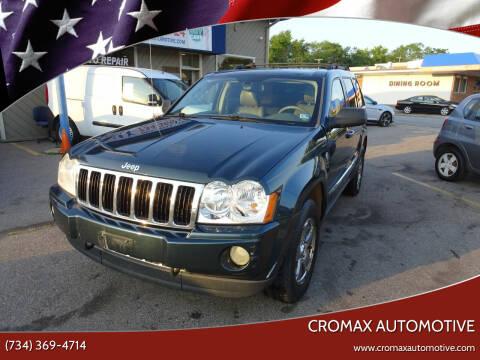 2005 Jeep Grand Cherokee for sale at Cromax Automotive in Ann Arbor MI
