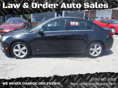 2013 Chevrolet Cruze for sale at Law & Order Auto Sales in Pilot Mountain NC